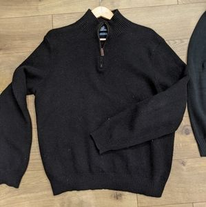 Mens Polo XL Wool Sweater